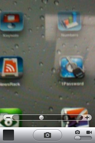 iPhone 4 zoom