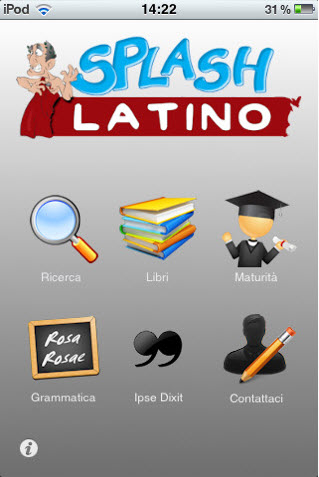 Screenshot di Latin per iPhone