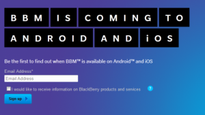 Un falso BlackBerry Messenger inganna 100.000 utenti Android