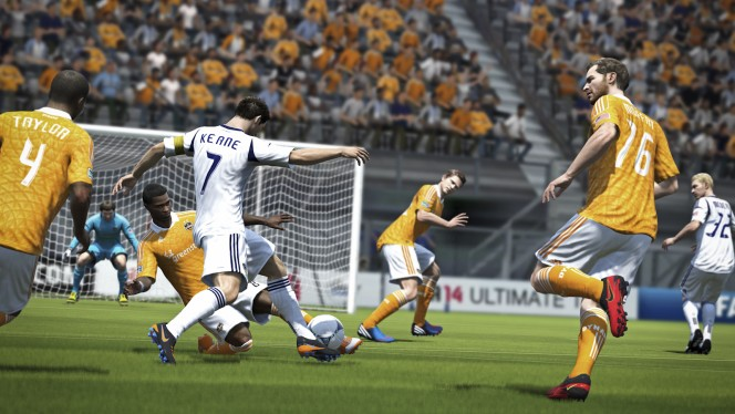 FIFA 14 Physical Play
