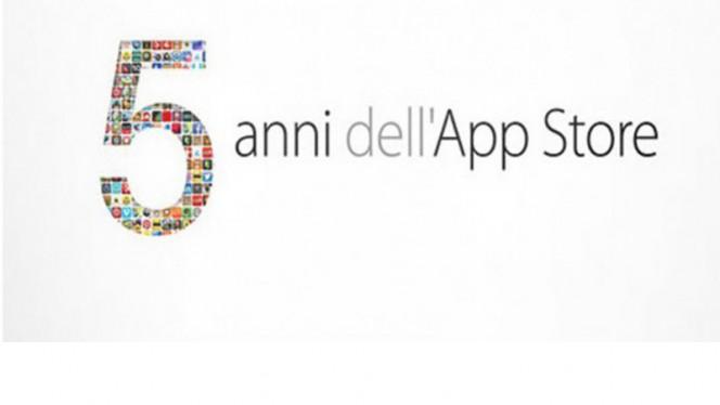 5 anni di app store