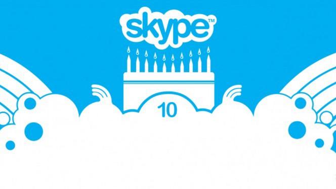Skype 10 anni