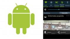 Come fare uno screenshot sull'Android