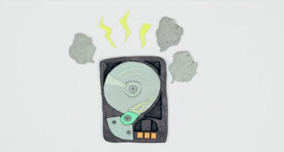 Problema na HD pode causar a perda de todos os arquivos
