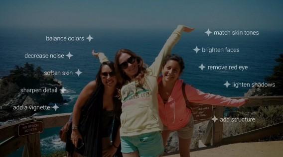 Google+ retouche photo