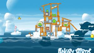 Update di Angry Birds Seasons per Android e iOS: 25 nuovi livelli… gelidi