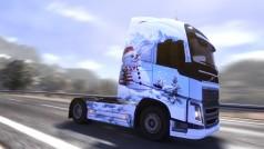 Euro Truck Simulator 2: disponibile il DLC Ice Cold Paint Jobs