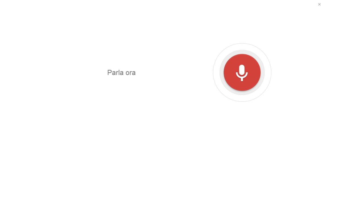 Zitti, Google Chrome ci ascolta