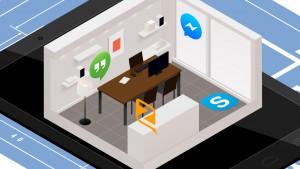 Cosa posso fare con il tablet: fare conversazioni a distanza