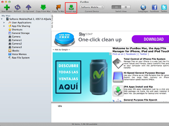 iFunBox install app