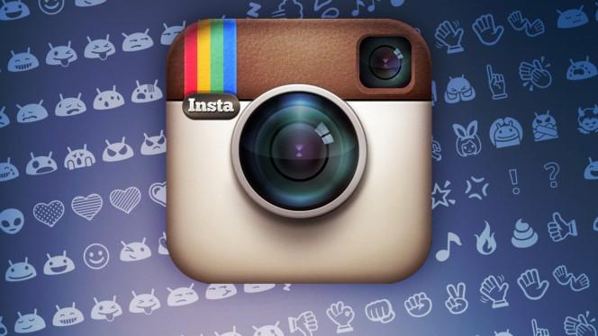 Instagram per Android: faccine ed emoticons originali sempre a portata di mano