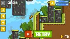I creatori di Angry Birds lanciano Retry. Gioco vecchia scuola in stile Flappy Bird