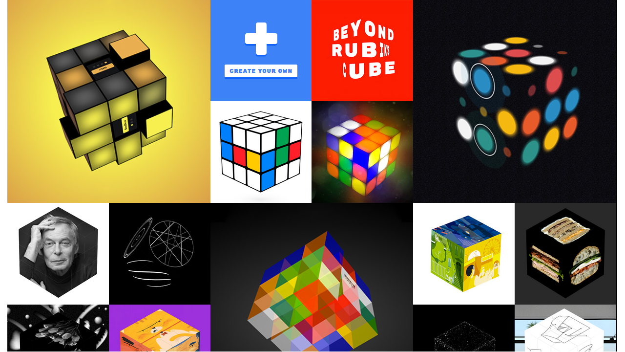 Chrome Cube Lab, Google remixa in 3D il cubo di Rubik