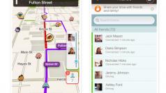 Waze si aggiorna su iPhone e Android e diventa più social