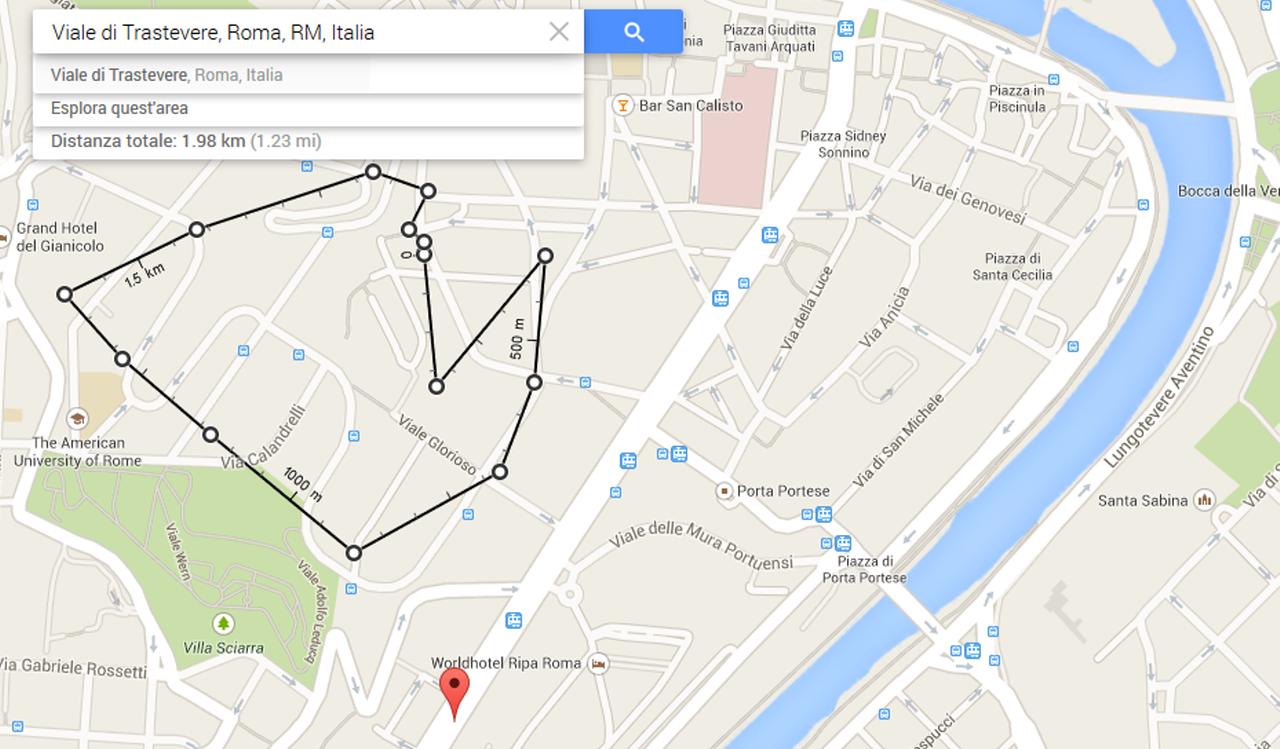 Google Maps ora ti permette di misurare la distanza tra due punti
