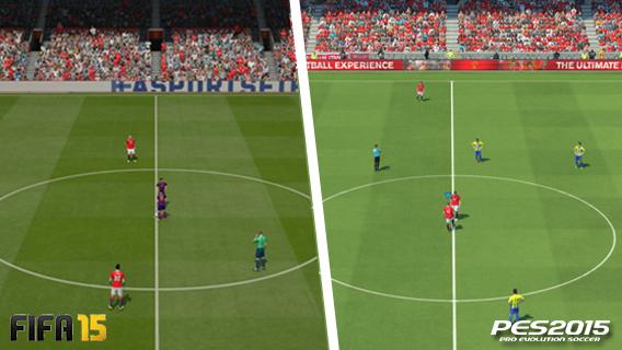 FIFA vs PES - Kick off