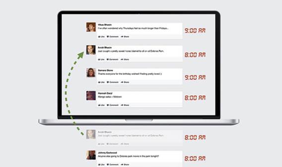 Le filtrage de Facebook