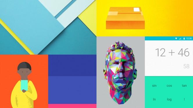 Material Design header