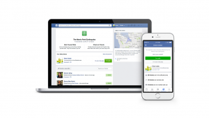 Facebook lancia Safety Check, sistema di sicurezza in caso di catastrofi