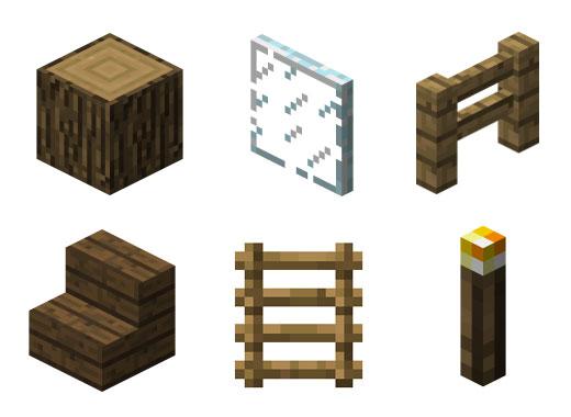 Minecraft: les matériaux pour se constuire un abri de fortune