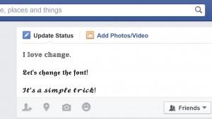 Come scrivere con font diversi su Facebook, Twitter o YouTube