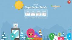 Il Natale secondo Google. Disponibile l'app Segui Babbo Natale con Google