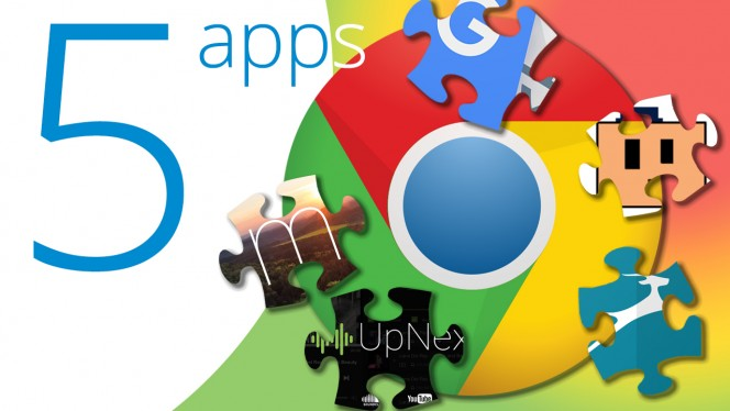 chrome extensions 5 apps