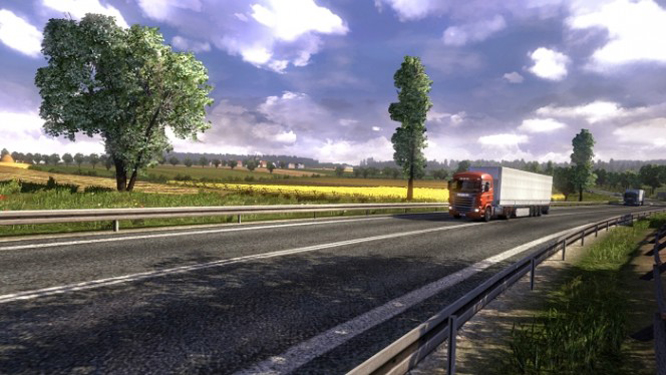 Screenshots van uitbreidingspakket Euro Truck Simulator 2