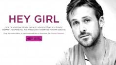 Hey Girl: Ryan Gosling Chrome-extensie verandert je browser