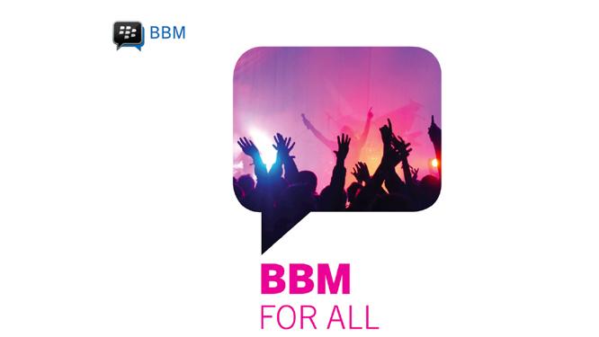 BlackBerry Messenger verschijnt dit weekend voor Android en iOS
