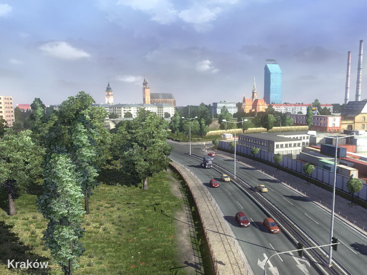 Nieuwe afbeeldingen Euro Truck Simulator 2: Going East
