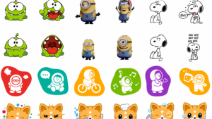 Downloaden: alle gratis stickers voor Facebook chat