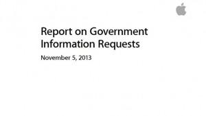 Apple geeft overheidsaanvragen vrij, spreekt zich uit over werkwijze NSA