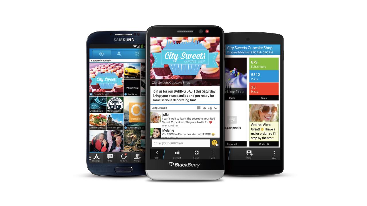 BBM vanaf nu ook beschikbaar voor Android Gingerbread