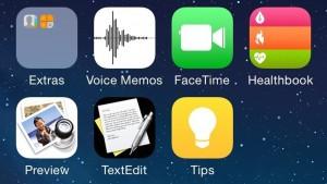 Gelekte screenshots van iOS 8 tonen nieuwe apps