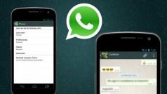 De 'laatst gezien'-functie uitzetten in WhatsApp voor Android