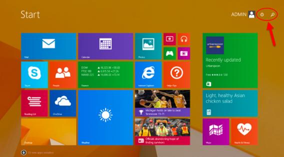 Modern UI in Windows 8.1 Update 1