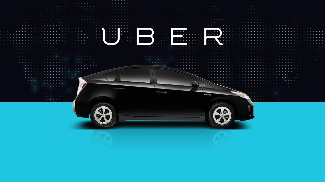 Veelbesproken taxi-app Uber concurreert met gewone taxi