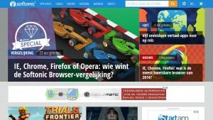 Softonic lanceert nieuwe homepage