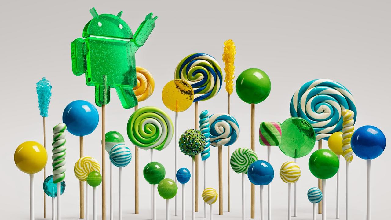 Google begint met uitrol Android 5.0 Lollipop