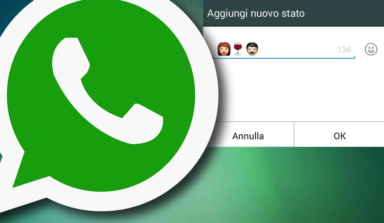 WhatsApp Tutorial: zo verander je de status