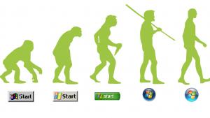 Windows OSにみるスタートボタンの変遷