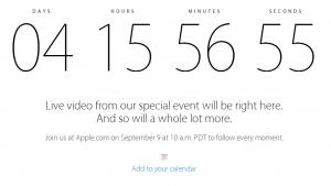 日本時間9/10午前2時、Appleスペシャルイベントをリアルタイムで見られる