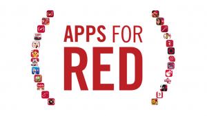 Appleがエイズ救済を目的とした特設ストアRED APPSを開設 人気アプリ25種の売上を全額寄付