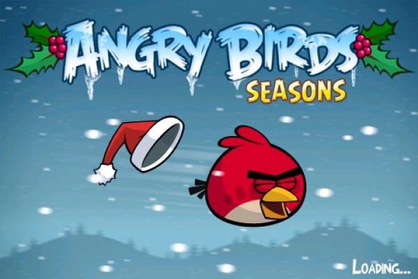 Angry Birds Seasons traz edição natalina