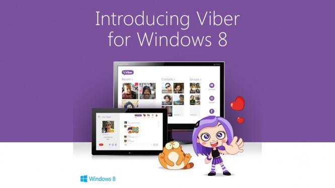 Viber chega ao Windows 8.1
