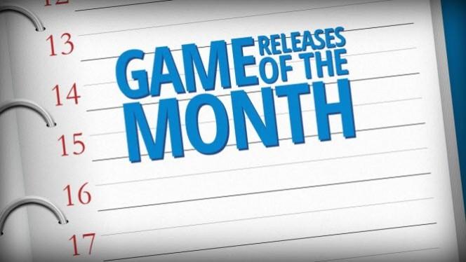 Games lançamentos do mês