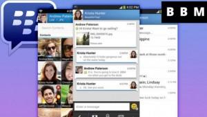 BlackBerry Messenger está disponível para versão 2.3 do Android