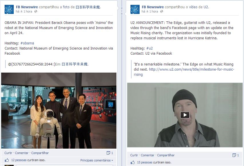 Facebook apresenta sua própria agência de notícias