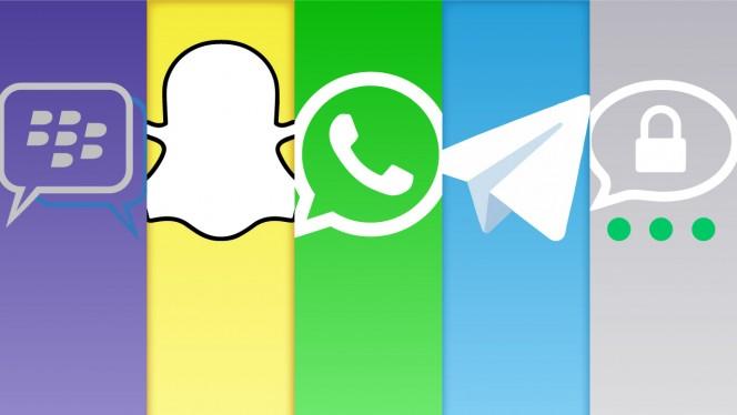 Comparativo de segurança dos apps de mensagens